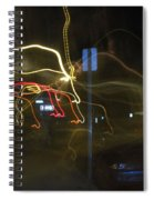 Lights That Attack Cars Two Spiral Notebook