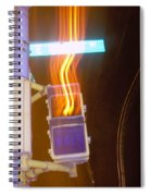 Lights That Eat Do Not Walk Signals Spiral Notebook