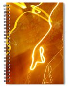 Lights That Eat Trees Spiral Notebook