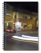 Lights That Race Spiral Notebook
