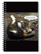 Like A Cat Spiral Notebook