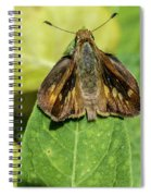 Like A Moth To A Flame Spiral Notebook
