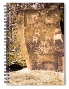 Like Ancient Graffiti  Spiral Notebook