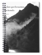 Like Dew Of Hermon Spiral Notebook