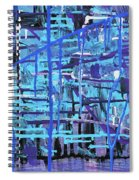 Lila Water Spiral Notebook