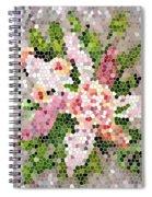 Lilac Bouquet II  Spiral Notebook