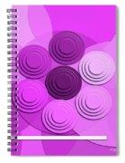 Lilac Bouquet Spiral Notebook