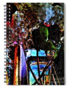 Lilac Brimmed With Dew Spiral Notebook