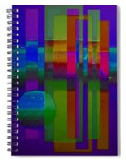 Lilac Doors Spiral Notebook