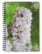 Lilac Dreams - Digital Watercolor Spiral Notebook