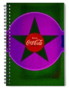 Lilac Labelscape Spiral Notebook