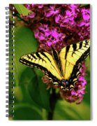 Lilac Landing Wall Art Spiral Notebook