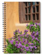 Lilacs And Adobe Spiral Notebook