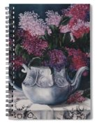 Lilacs And Lace Spiral Notebook