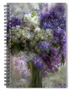 Lilacs Of Love Spiral Notebook