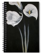 Lilies Ffor Brandy Spiral Notebook