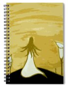 Lilies Of The Field 2 Spiral Notebook
