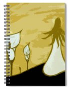 Lilies Of The Field 3 Spiral Notebook