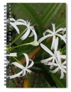 Lilies Of The Swamp Spiral Notebook