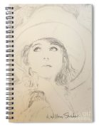 Lillian In Hat Spiral Notebook