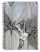 Lillies Spiral Notebook