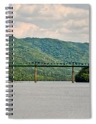 Lilly Bridge - Hinton West Virginia Spiral Notebook