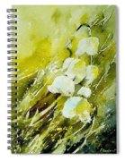 Lilly Of The Valley Spiral Notebook