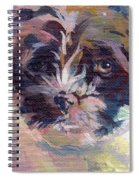 Lilly Pup Spiral Notebook