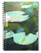 Lillypad Reflections Spiral Notebook