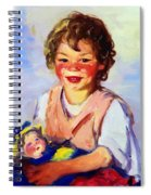 Lily Cow And The Queen 1915 Spiral Notebook