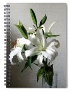 Lily Flower Spiral Notebook