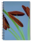 Lily Macro 3 Spiral Notebook