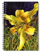 Lily On Display Spiral Notebook