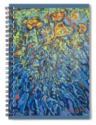Lily Pads Water Lily Paintings Spiral Notebook