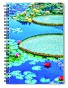 Lily Pond 2 Spiral Notebook