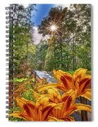 Lily Trail Spiral Notebook