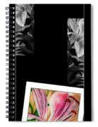 Lily Wall Decor Spiral Notebook