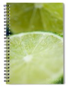 Lime Cut Spiral Notebook