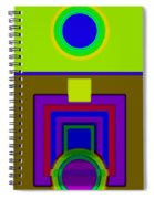 Lime Driver Spiral Notebook