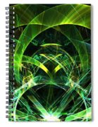 Lime Jewel Spiral Notebook