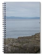 Lime Kiln Lighthouse Panorama Spiral Notebook