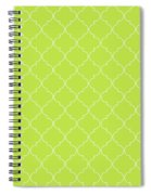 Lime Punch Quatrefoil Spiral Notebook