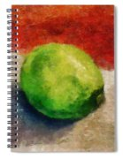 Lime Still Life Spiral Notebook