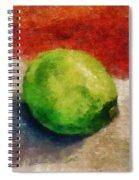 Lime Still Life Spiral Notebook