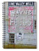 Lime Valley Mills Spiral Notebook