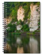 Limestone Bluffs Along Upper Iowa Spiral Notebook