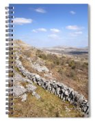 Limestone Pavements And Dry-stone Walls, Fahee North, Burren, County Clare, Ireland Spiral Notebook