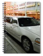 Limo Waiting Spiral Notebook