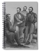 Lincoln And His Generals Spiral Notebook