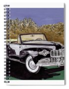 Lincoln Continental Mk I Spiral Notebook